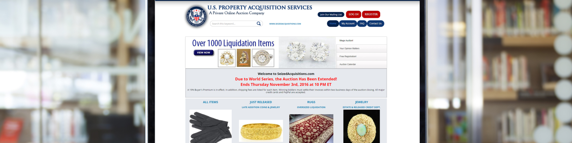 Seized Acquisitions
