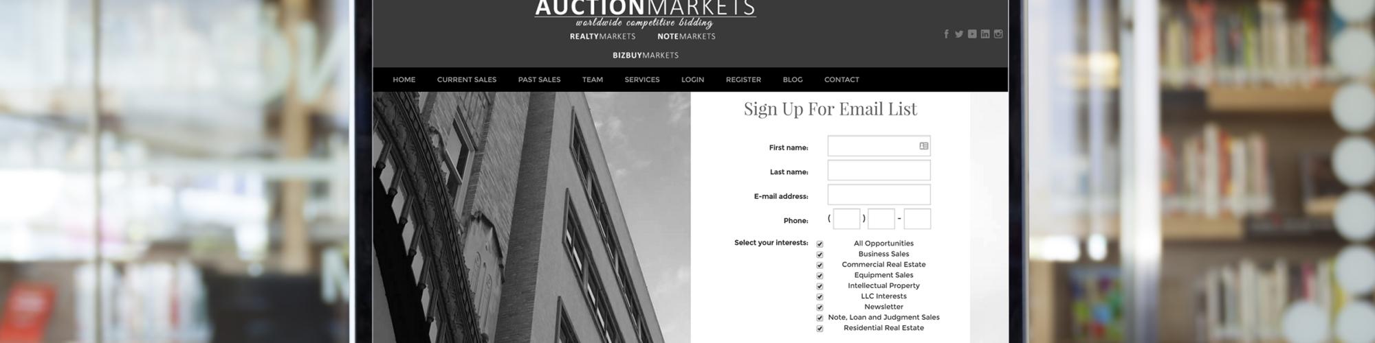 Auction Markets