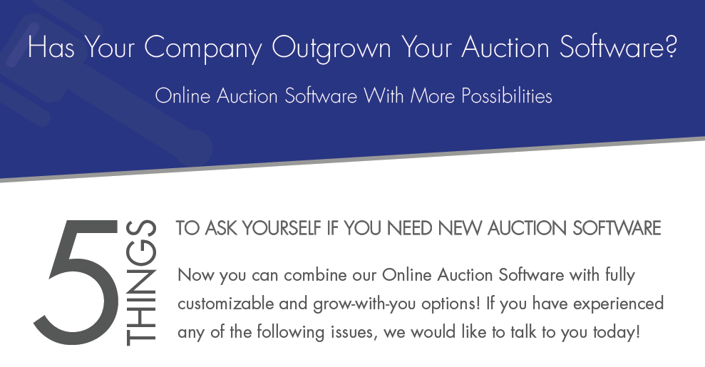Online Auction Software Customize
