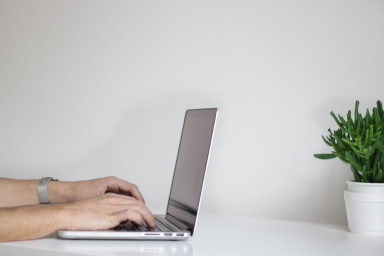 laptop webmaster