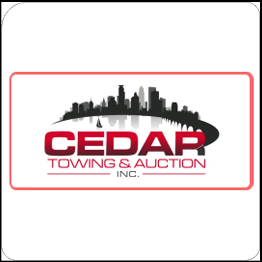 cedar towing auction