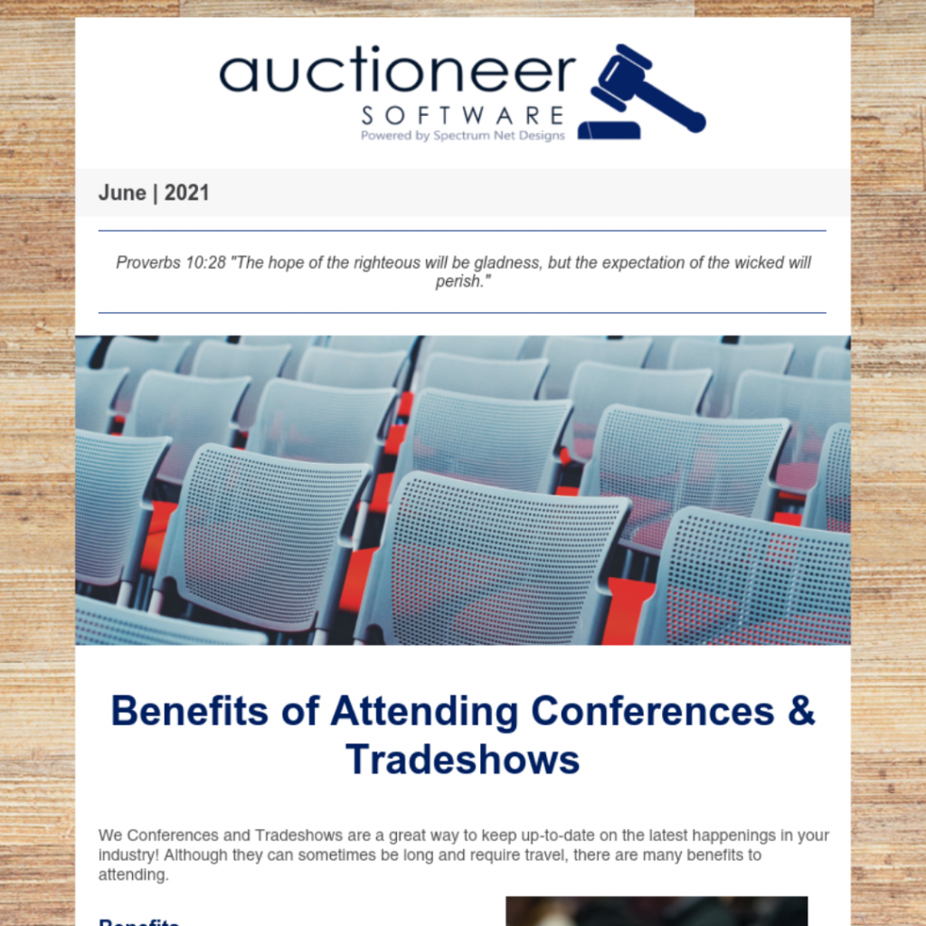 6.24.21 Auctioneer Newsletter Webpage Image